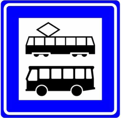 Bushalte / tramhalte