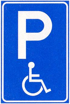 Gehandicaptenparkeerplaats