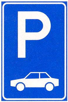 Parkeergelegenheid alleen bestemd voor de voertuigcategorie of groep voertuigen die op het bord is aangegeven