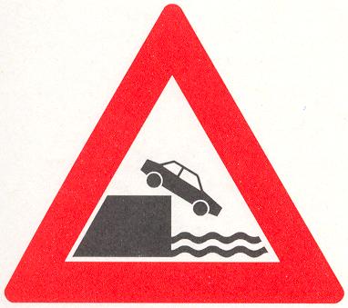 Let op: Kade of rivieroever