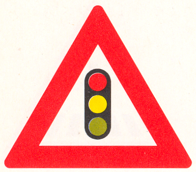 Let op: Verkeerslichten